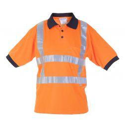 RWS Polo Shirt Hoge Zichtbaarheid Tilburg EN471RWS